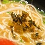 博多ラーメン 心 - 辛子高菜