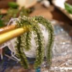 うさぎや - 刺身のツマが海ブドウ