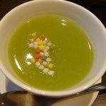 こうの湯 - 2.青大豆のスープ