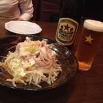 39257397 - 豚ポンとビール!