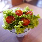 ダバダバ - セットのサラダ
