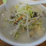 富富 - 料理写真:豆乳ラーメン 750円