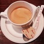 赤兵衛 - サービスのコーヒー 2015.06.