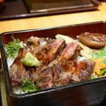関サービスエリア(上り線)レストラン「かごの屋」 - ♡飛騨牛ステーキ重