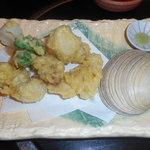 与志乃 - この時季外せない、大アサリの天ぷら