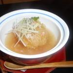与志乃 - 蓮根饅頭、海老餡