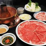 【売れ筋】 【水土日限定】和牛&国産豚 食べ放題コース