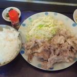 39266035 - 日替わり「豚マヨ定食」