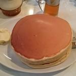 珈琲家 - ホットケーキ