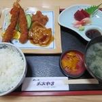 """あおやま - """"よる定食""""@1,000円"""