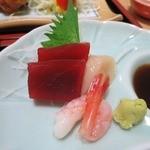 あおやま - お寿司屋さんの刺身