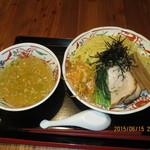 赤兎 - 塩つけ麺(大盛)
