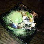 神戸炉釜工房 - 抹茶アイス