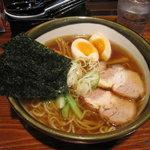 大八車 - 料理写真:東京にぼし麺+全部のせ