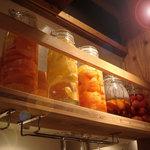 バンビーナ - 色んな季節フルーツを使った、バンビーナオリジナル果実酒
