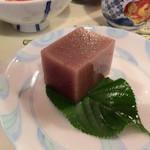 金山ヒュッテ - 手作り水羊羹、これが一番美味しかった(^O^)/