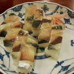 鮨と麺 うまい門 - バッテラ