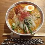 とり田 - とり田水炊き担々麺(激辛)(3回目)