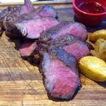 肉ビストロ SIXMARS - ステーキ 400g