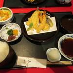 銀座 天一 - 天ぷら膳(竹) 2592円