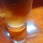 焼き鳥め組 - ドリンク写真:ノンアルコールビール一杯目