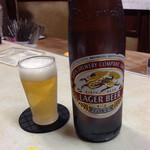 やまと - ビール(キリン大瓶) 670円