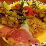 ピッツェリア エイゴロ 伊予三島 - 前菜盛り合わせ:1200円