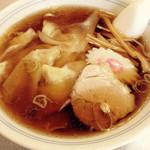 八千代飯店 - ワンタン麺