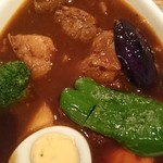 スープカレー屋 鴻 - 料理写真:カレーあっぷ