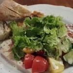 ルピュイグルモンカマクラ - 前菜盛り合わせ角度を変えて