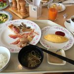バイキングレストラン つばき - 朝食