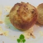 カンヴァス・ダ・ディエゴ - 料理写真:玉葱のオーブン焼き「チポッラリピエーナ」