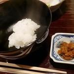 39285776 - 一口ご飯とお味噌汁