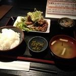 しき菜 - 大盛りぢどり唐揚定食