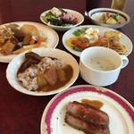 花水木 - カレーはビーフと野菜の2種! 2015年6月21日