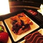 マデュロ - ブルーベリーのケーキ