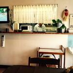 鳥亀食堂 - 厨房の御主人