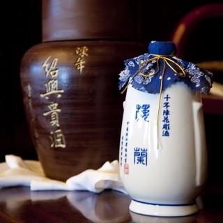 芳醇な味わいと濃厚な香りが特徴の楼蘭陳花彫10年