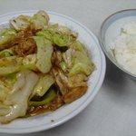 北華飯店 - 料理写真:回鍋肉大盛り