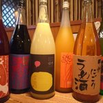 韓屋台 李俊 - マッコリなど韓国のお酒はもちろん、梅酒や果実酒も豊富です。