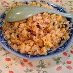 上海家庭料理 謝謝 - 半炒飯です。