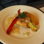 ビストロ パリエ - 白身魚のバジルクリームソース