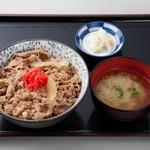 パピヨン亭 - 牛丼(並)