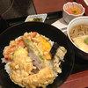 美々卯 - 料理写真:野菜丼蕎麦
