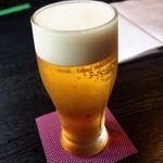 炭火焼鳥あずま - 生ビール