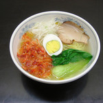 牧之原サービスエリア(上り)スナックコーナー - 料理写真:桜えび塩ラーメン