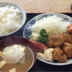 京屋 - 鳥から揚げ定食
