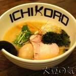 鶏そば十番156 - 純鶏あおさそば(¥880)