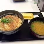 吉野家 - 豆腐ぶっかけ飯 ~鯛だし味~ (並盛)290円 423kcal