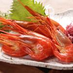 ろばた大助 - 濃厚な味の北海縞海老(ホッカイシマエビ)